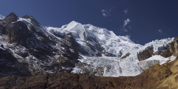 Central summit of Illimani